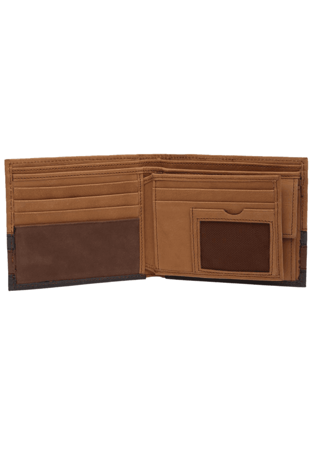 Mens Flap Leather Wallet