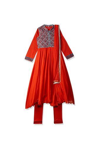 BIBA GIRLS -  RedIndianwear - Main