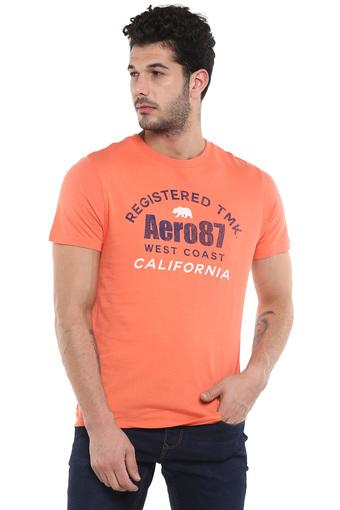 AEROPOSTALE -  Orange T-shirts - Main