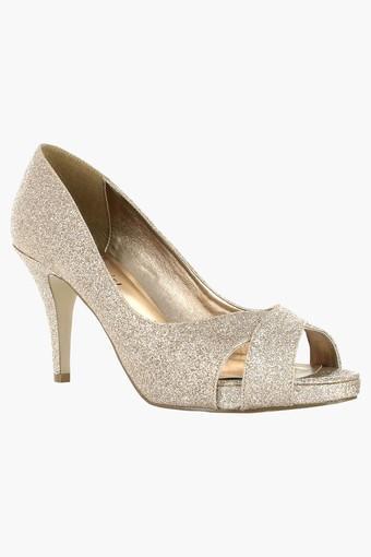 0d6d20204f4 Womens Party Wear Slipon Heel Sandals
