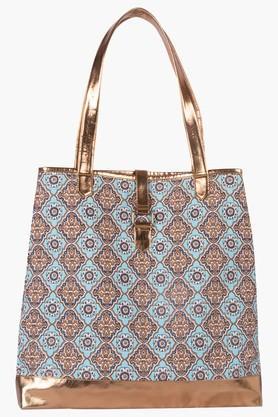 BE FOR BAGWomens Zipper Closure Shoulder Bag