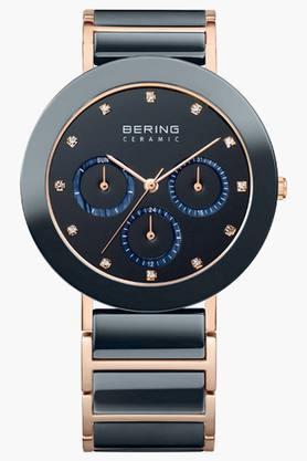 BERINGUnisex Ceramic Brown Round Analogue Watch 11438-746