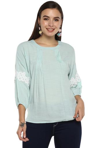 RS BY ROCKY STAR -  Mint Tops & Tees - Main