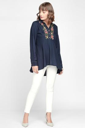 Womens Embroidered Top