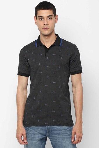 ALLEN SOLLY -  GreyT-Shirts & Polos - Main