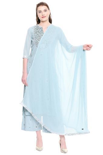 AURELIA -  Sky BlueSalwar & Churidar Suits - Main