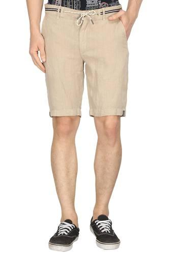 JACK AND JONES -  Beige Shorts & 3/4th - Main