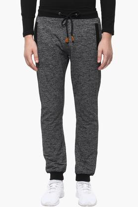 STATUS QUO Mens 3 Pocket Slub Track Pants