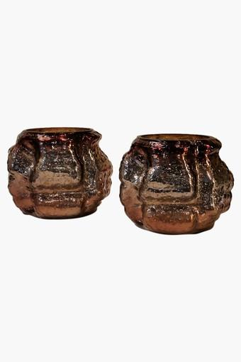Tea-Light Candle Holder - Set of 2