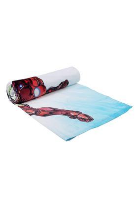 Avengers Printed Textured Bath Towel