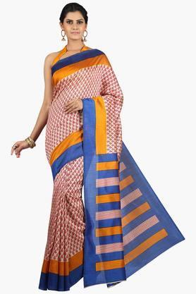 JASHNWomen Tussar Silk Printed Saree - 201860661