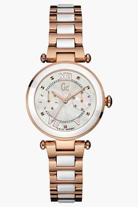 Guess GC Collection Lady Chic Womens Watch Y06004L1 (GC Passport Holder Absolutely Free) image