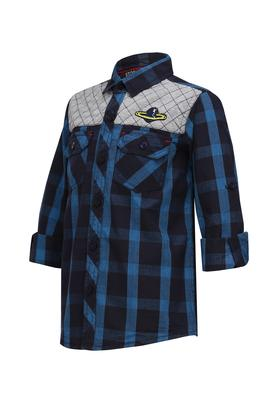 Boys 2 Pocket Checked Shirt