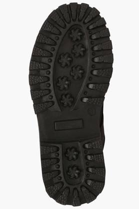 Boys Leather Velcro Closure Boot