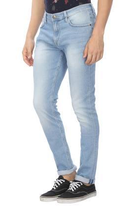 Mens 5 Pocket Mild Wash Jeans (Bruce Fit)