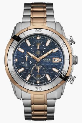 Mens Chronograph Stainless Steel Watch - W0746G1