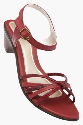 LAVIEWomens Casual Wear Buckle Closure Heels - 202520275