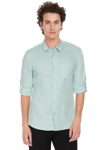 CELIO -  Aqua GreenCasual Shirts - Main
