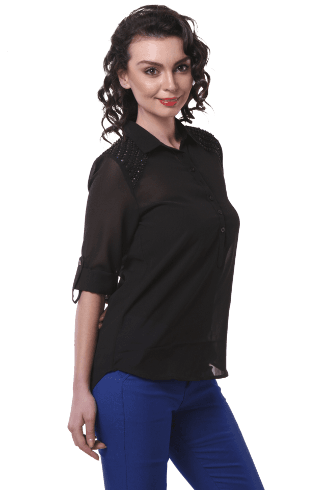 Women Polyester Top