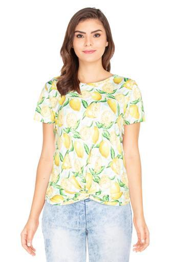 RS BY ROCKY STAR -  Yellow Tops & Tees - Main