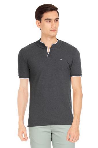 UNITED COLORS OF BENETTON -  Anthra MelangeT-shirts - Main