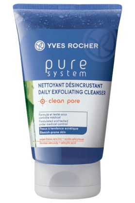 YVES ROCHERPURE SYSTEM DAILY EXFOLIATING CLEANSER 125ML