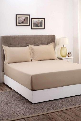 MASPAR -  NeutralDouble Bed Sheets - Main