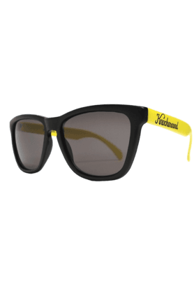KNOCKAROUND Classic Premium Throwback Unisex Sunglasses Yellow/Black-PRTH1006 (Use Code FB20 To Get 20% Off On Purchase Of Rs.1800)