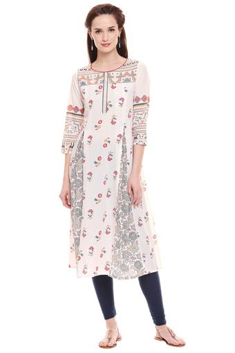 IMARA -  Off WhiteIMARA - Shop for Rs.4999 And Get Rs.500 Off - Main