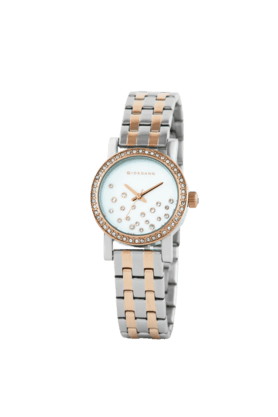 GIO COLLECTION Zahara White Dial Rose Gold Case Womens Watch - 2728-55