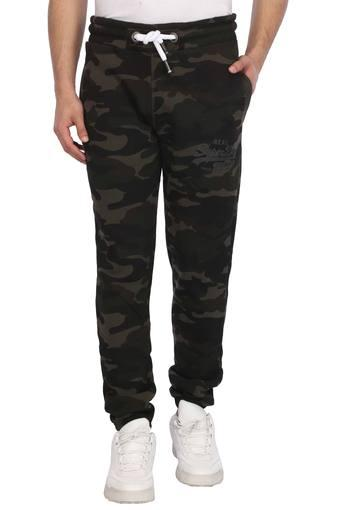Mens 3 Pocket Camouflage Sports Joggers