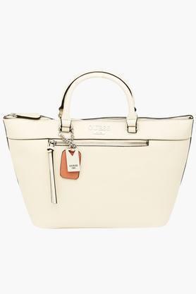 GUESSWomens Aerial Zipper Closure Tote Handbag - 201421696