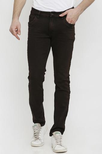 REX STRAUT JEANS -  BrownJeans - Main