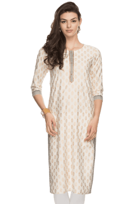 Womens Round Neck Kurta