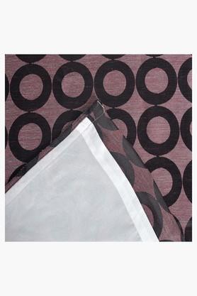 Printed 1 Piece Eyelet Curtain