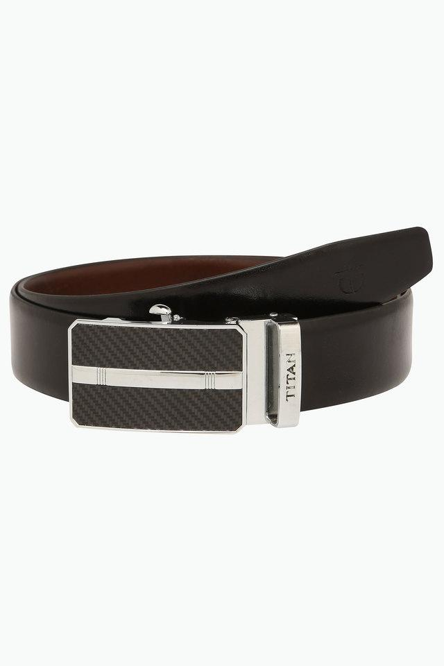 Mens Leather Casual Belt