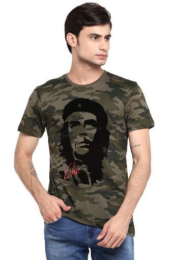 FREE AUTHORITY -  OliveT-shirts - Main