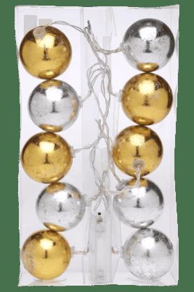 IVYGold Silver Ball String Light