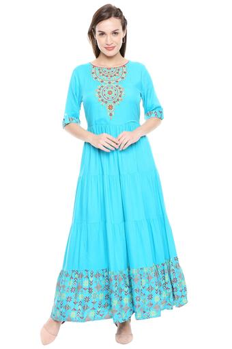 B480 -  Sky Blue Kurtas - Main
