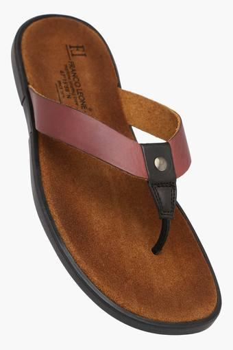 de3b18f57600f Buy FRANCO LEONE Mens Casual Wear Slippers