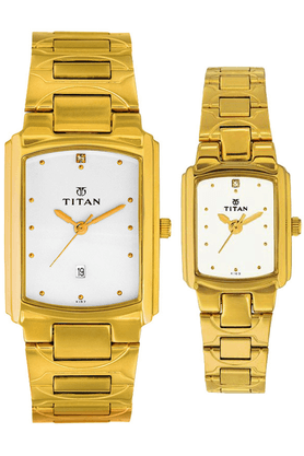 TITAN Titan Pair Bandhan Watch-NF19552955YM01