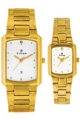 TITANTitan Pair Bandhan Watch-NF19552955YM01