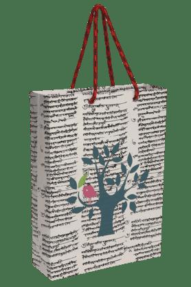 BACK TO EARTHHandmade Paper Big Bag With Tree