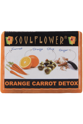 SOULFLOWER Orange Carrot Detox - Soap