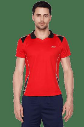 BLACK PANTHERMens Short Sleeves Solid Polo T-Shirt