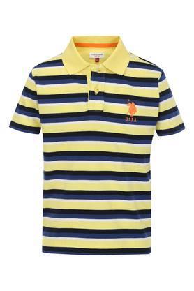 b86fecdf45f56 Buy U.S. Polo Shirts & T-Shirts For Men Online | Shoppers Stop