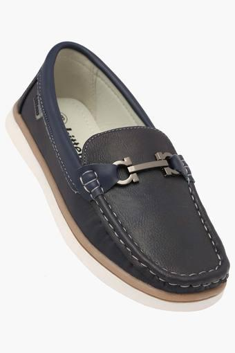 Boys Leather Slipon Loafers