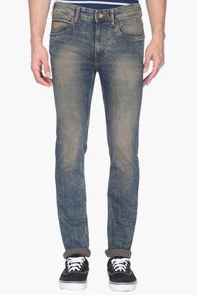 U.S. POLO ASSN. DENIMMens Skinny Fit Vintage Wash Jeans (Regallo Fit)