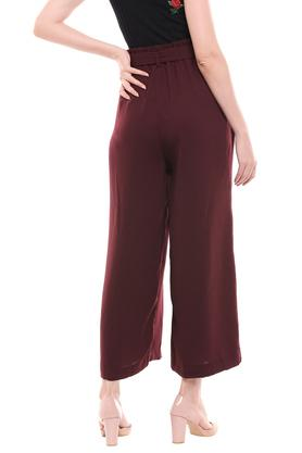 MSTAKEN - BurgundyTrousers & Pants - 1