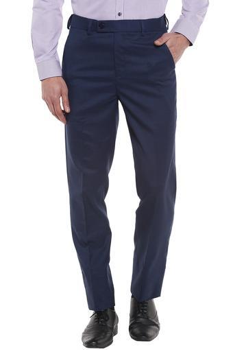 VETTORIO FRATINI -  NavyCasual Trousers - Main